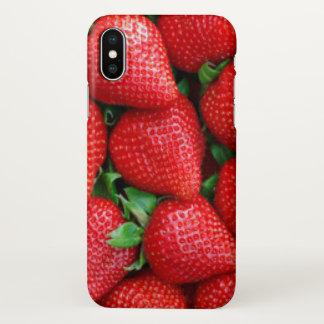 Het rode Ontwerp van het Patroon van Aardbeien
