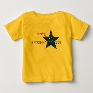 Het rode Overhemd van het Feestvarken van de Ster Baby T Shirts