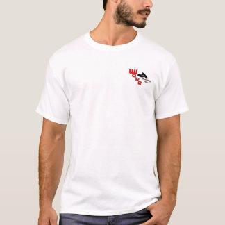 Het rode Overhemd van het Team van het Kielzog T Shirt