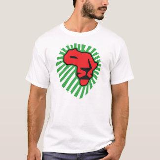 Het rode Overhemd van Waka Waka Afrika van de T Shirt