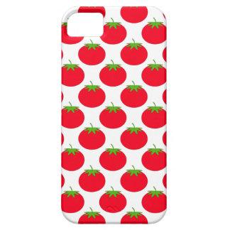 Het rode Patroon van de Tomaat Barely There iPhone 5 Hoesje