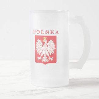 Het Rode Schild van Eagle van Polska Matglas Bierpul