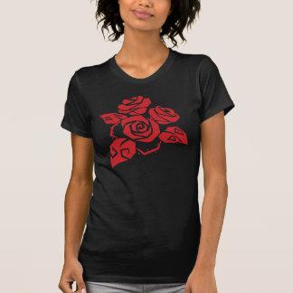 Het rode T-shirt van Rozen