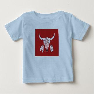 Het rode van het babyjongens van de Buffels van de Baby T Shirts