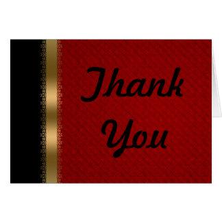 Het rode Zwarte Goud dankt u kaardt Briefkaarten 0
