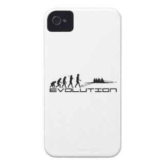 Het roeien het Art. van de Evolutie van de Sport iPhone 4 Hoesje
