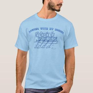Het roeien met mijn Homies T Shirt