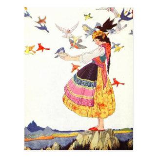Het roepen van de Vogels Briefkaart
