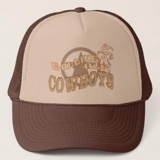 Het roepen van het Pet van Cowboys