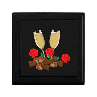 Het romantische ontwerp van de Valentijnsdag Decoratiedoosje