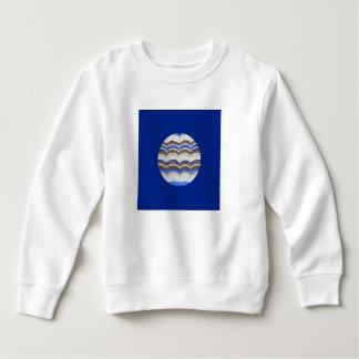 Het ronde Blauwe Sweatshirt van de Peuter van het