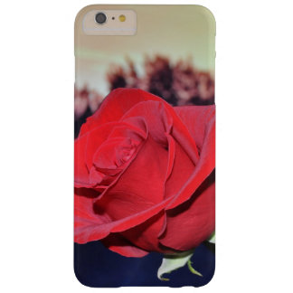 Het rood nam iPhone van de iphonedekking 6/6s Barely There iPhone 6 Plus Hoesje