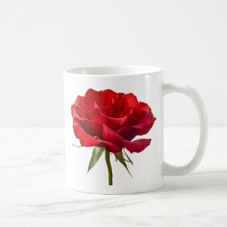 Het rood nam met de Daling van de Dauw op Wit toe Koffiemok