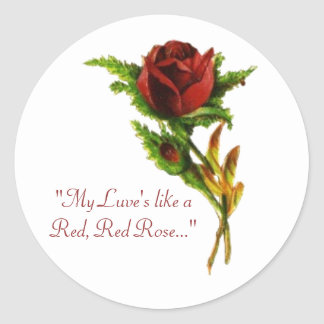 Het rood, Rood nam Sticker toe