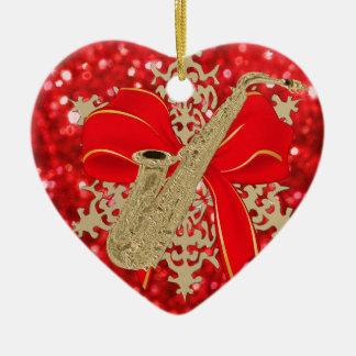 Het rood schittert het Gouden Ornament van de