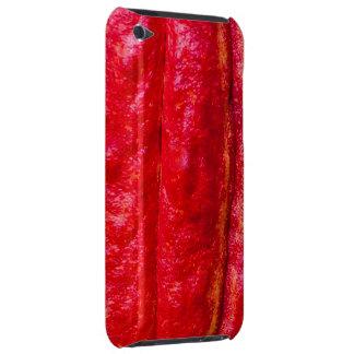 het rood van de cacaopeul iPod touch hoesje