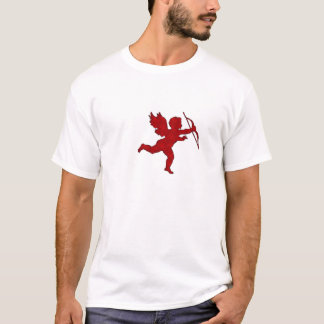 Het Rood van de Cupido van de t-shirt