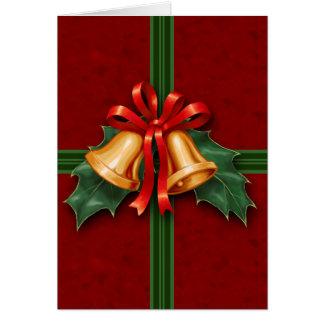 Het Rood van de Klokken van Kerstmis en van de Briefkaarten 0