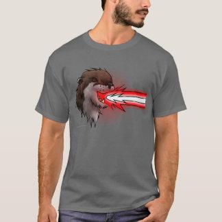 Het Rood van de Otter van de Laser van de dood T Shirt