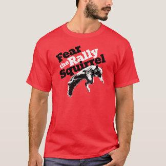 Het Rood van het Overhemd van de Eekhoorn van de T Shirt