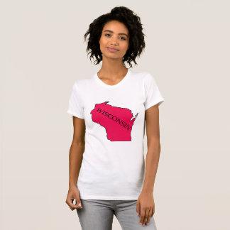 Het Rood van het Overhemd van het Overzicht van de T Shirt