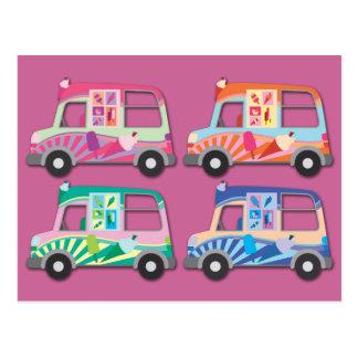 Het Roomijs Van Pink van het pop-art Briefkaart