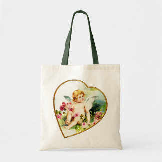 Het rooskleurige Canvas tas van de Cherubijn