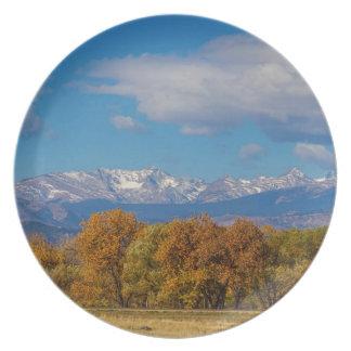 Het rotsachtige Kleurrijke Uitzicht van Front Melamine+bord