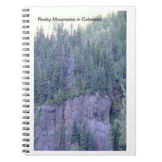 Het rotsachtige Notitieboekje van de Foto van Ringband Notitieboek