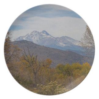 Het rotsachtige Uitzicht van de Uitlopers van de Melamine+bord