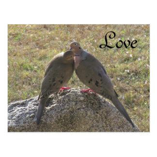 Het rouwen de Briefkaarten van de Liefde van de