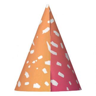 Het roze aan Oranje Pet van de Partij van de Feesthoedjes