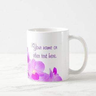 Het roze Boeket van de Orchidee Koffiemok