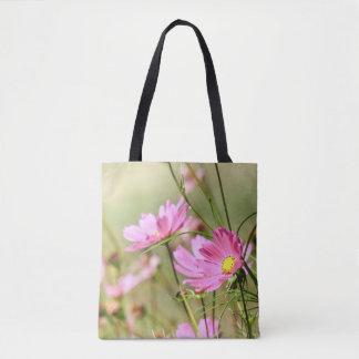 Het roze Canvas tas van de Kosmos