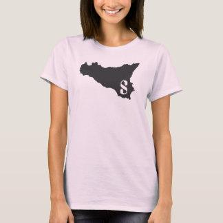 Het roze en de zwarte van Sicilia T Shirt