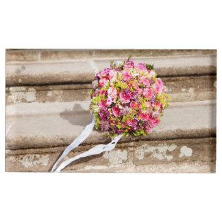 Het roze en Groene BloemenBoeket van het Huwelijk