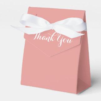 Het roze en het Wit danken u - de Partij van het Bedankdoosjes