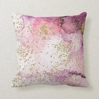 Het roze en Paarse Goud van de Was van de Sierkussen