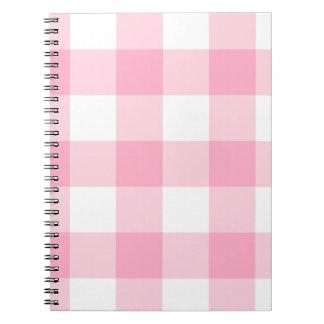 Het roze en Witte Notitieboekje van de Controle Notitieboeken
