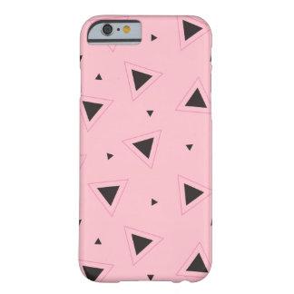 Het roze en zwarte geometrische hoesje van