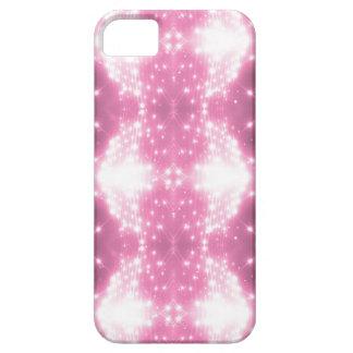 Het roze Fonkelen Kaleidasope Barely There iPhone 5 Hoesje