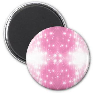 Het roze Fonkelen Kaleidasope Magneet