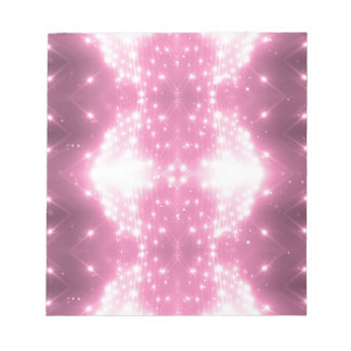 Het roze Fonkelen Kaleidosope Notitieblok