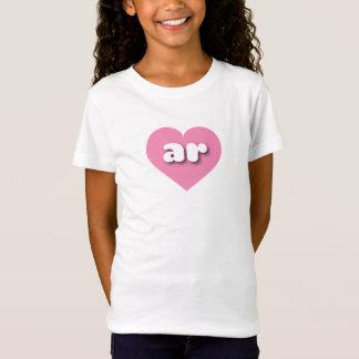 Het roze hart van Arkansas - miniliefde T Shirt