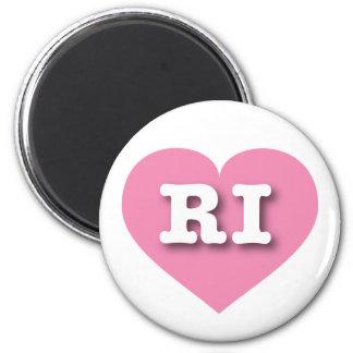 Het roze hart van Rhode Island - Grote Liefde Magneet
