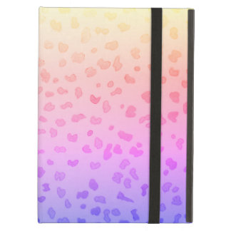 Het roze hoesje van de Jachtluipaard iPad iPad Air Hoesje