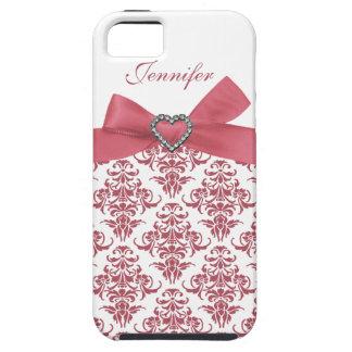 Het roze Hoesje van iPhone van de Juwelen van het