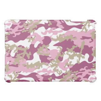 Het Roze iPad Hoesje Camo van de douane