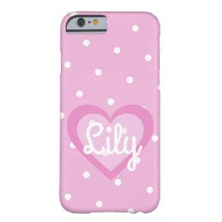 Het roze Klantgerichte 6/6S Hoesje IPhone van de