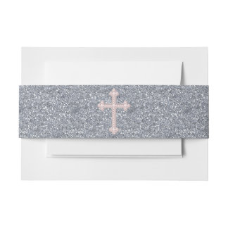 Het roze Kruis van de Parel Uitnodigingen Wikkel